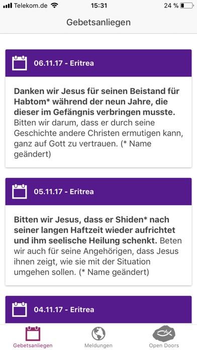 Open Doors Deutschland Screenshot