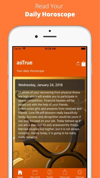 AsTrue - Daily Horoscope