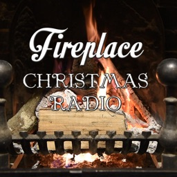 Fireplace Christmas Radio