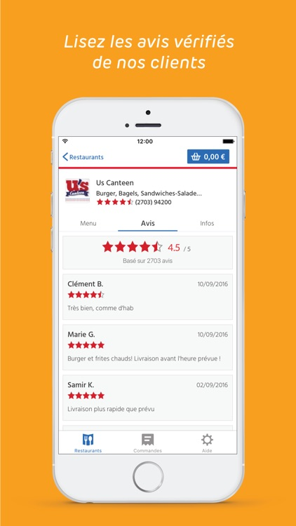 Allo Resto - Livraison repas screenshot-4