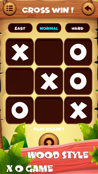 XO Tic tac toe ! Wooden screenshot three