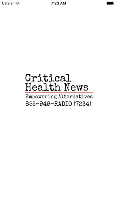 Critical Health News for Windows