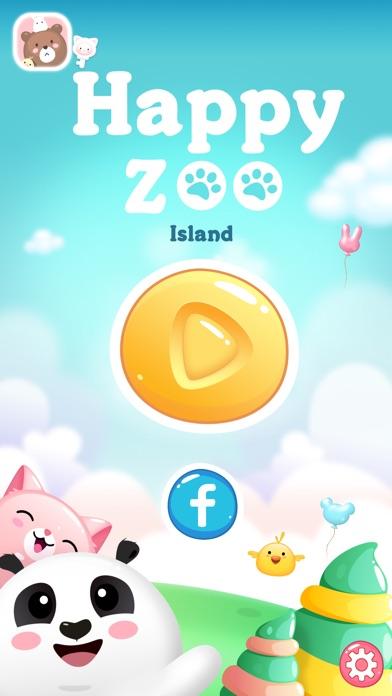 Screenshot 1 Happy Zoo Island-Match 3 Games