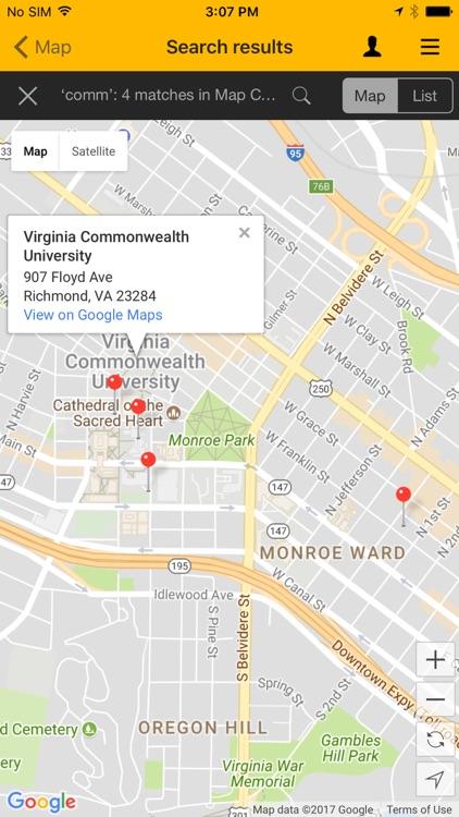 VCU Mobile by Virginia monwealth University