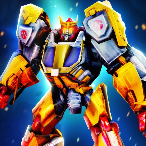 Robot Fighting Ring War Hero