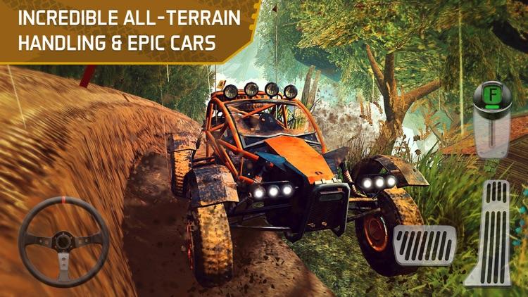 4x4 Dirt Track Forest Driving screenshot-3