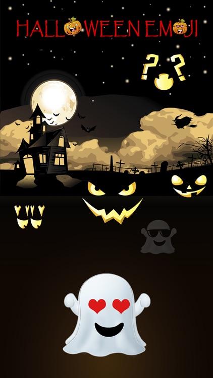 Fun Halloween Pumpkin Sticker screenshot-4