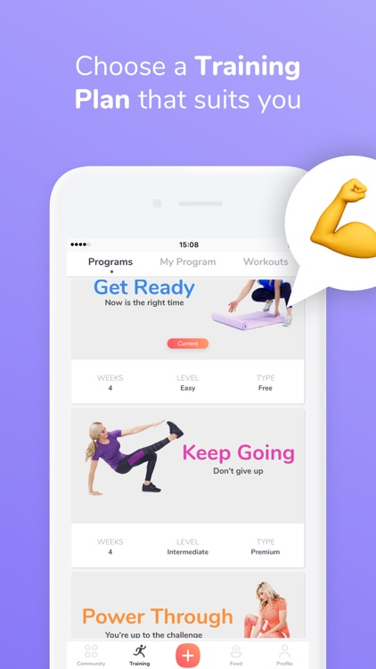 GymNadz - Women's Fitness App