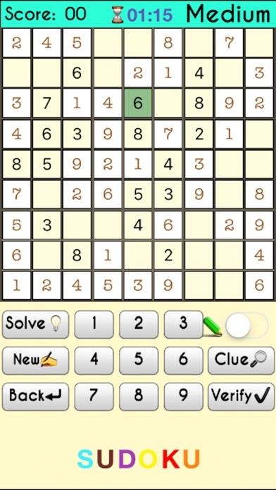 Sudoku Challenge - Premium screenshot 2