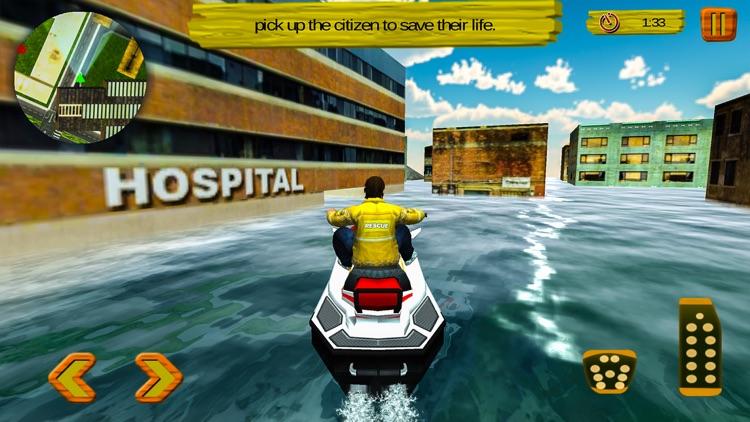 Jet Ski Life Guard City screenshot-4