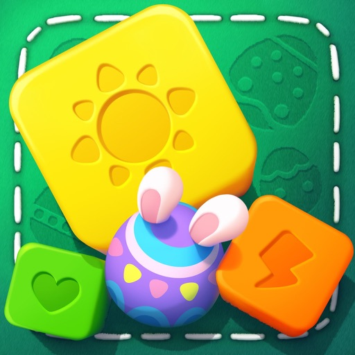 Viva Blast-Crush block match 3 application logo