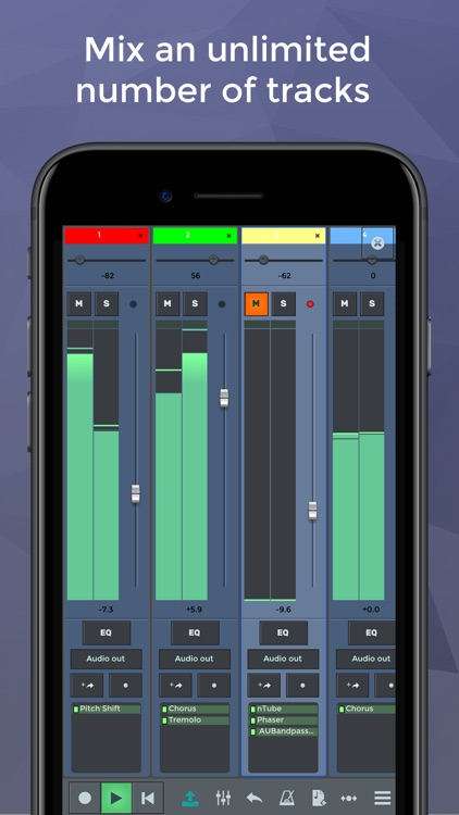 n-Track 8 Pro Music Recorder Studio screenshot-1