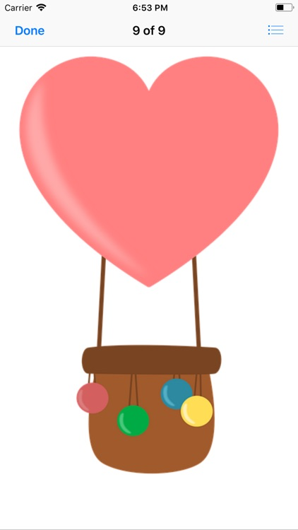 Lotsa Hot Air Balloon Stickers screenshot-9
