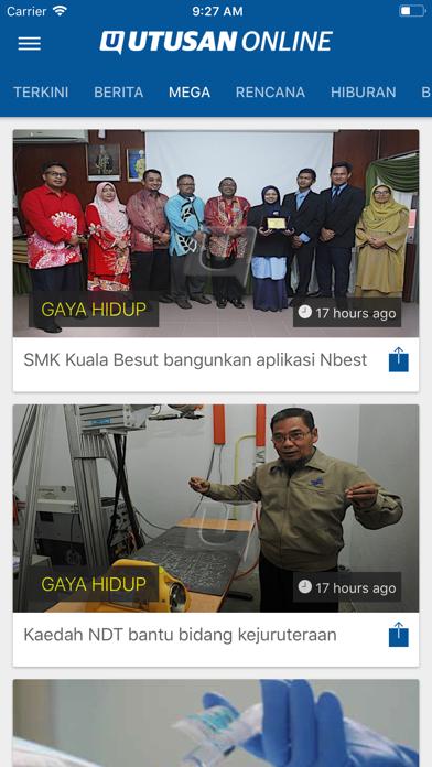 Utusan OnlineScreenshot of 5