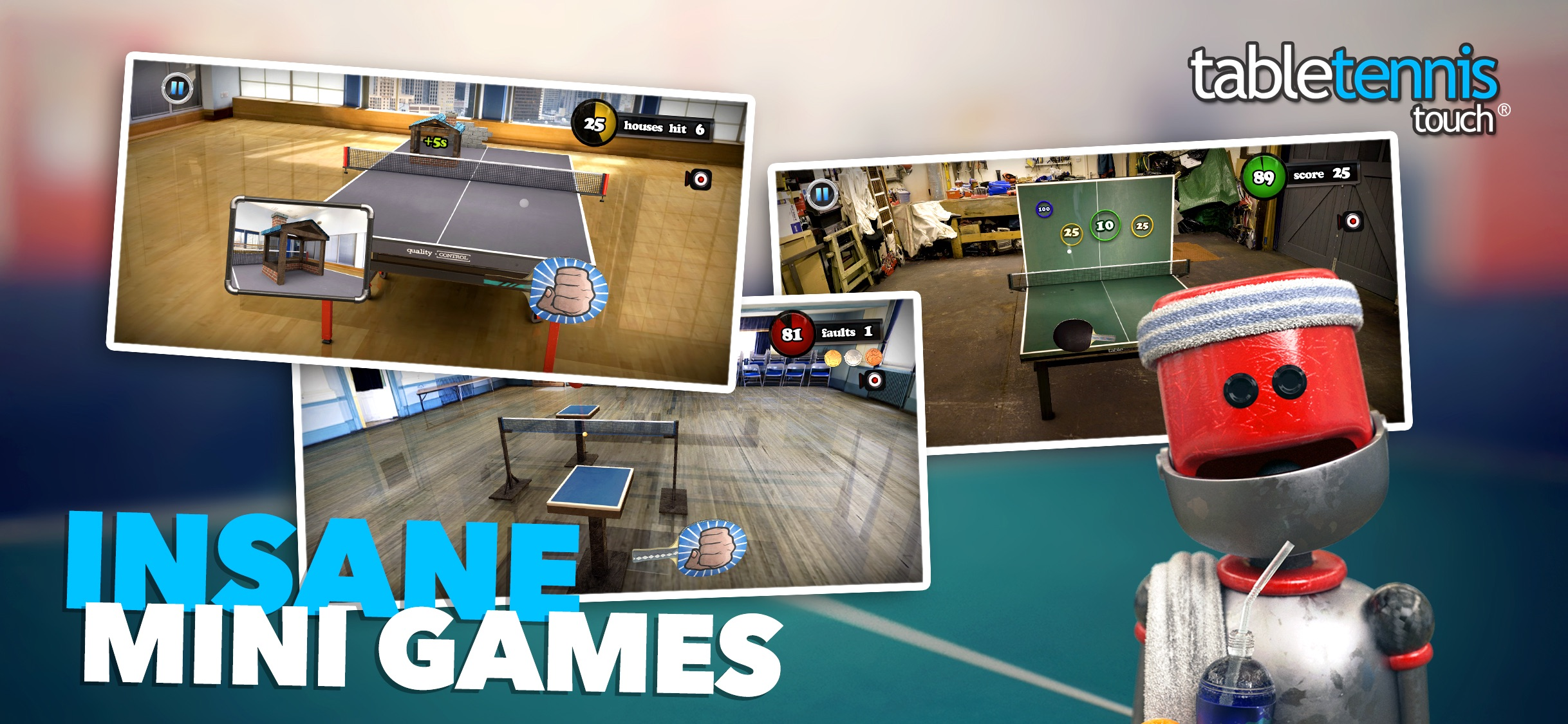 Screenshot do app Table Tennis Touch
