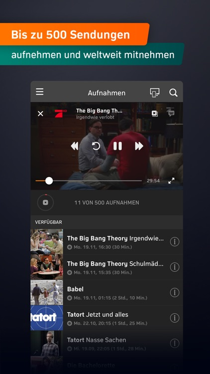 Zattoo - TV Streaming App screenshot-5
