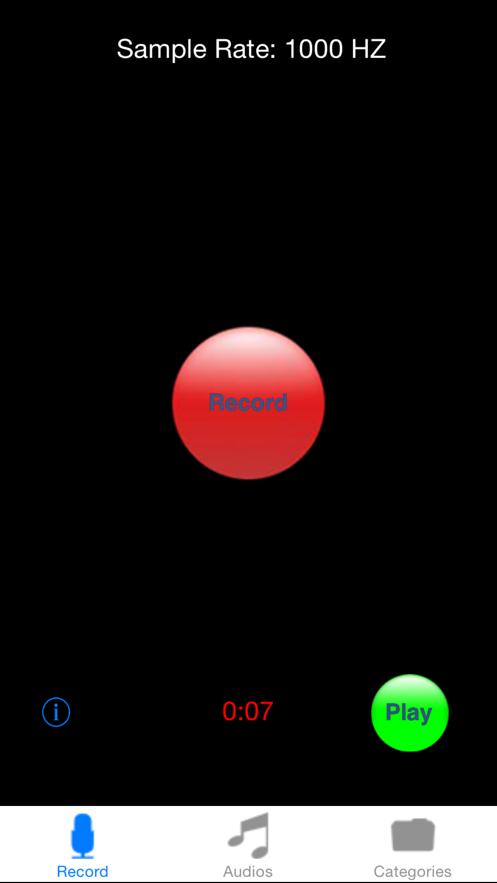 iRecord App 截图
