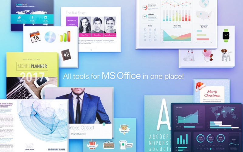 Screenshot #2 for Toolbox for MS Office Template