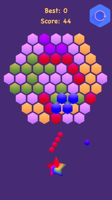 Hexagonal Merge - Premium. screenshot 3
