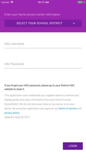 Graded Check Your Hac Grades In De App Store