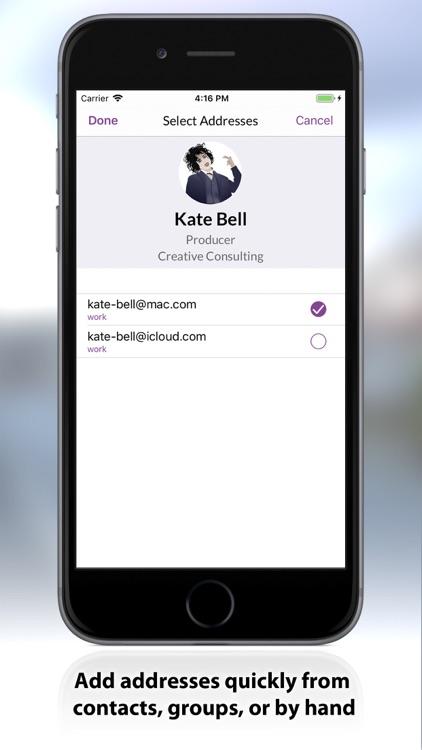 MailShot- Group Email screenshot-4