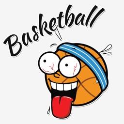Amazing Basketball Stickers