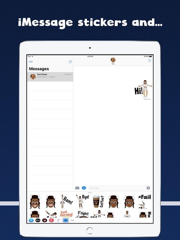 Cheer GIFs Cheerleading Emojis screenshot 7