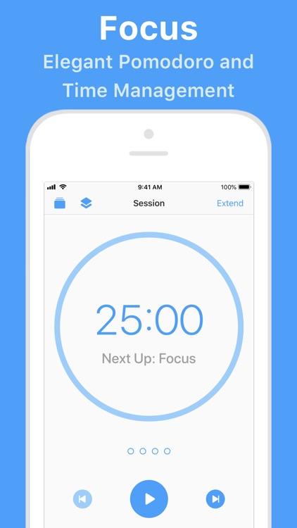 Focus - Time Manager screenshot-0