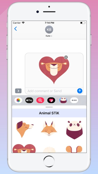 Screenshot for Animals STiK in United States App Store
