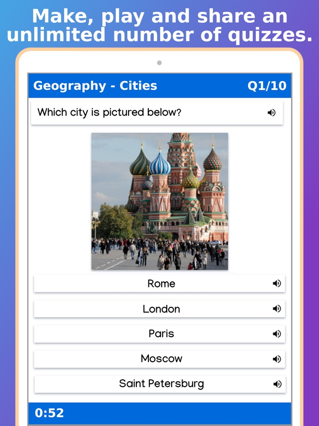 ‎Topgrade Quiz Maker Screenshot