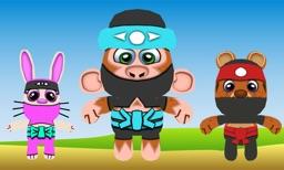 Ninja Friends 3D for TV