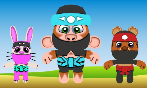 Ninja Friends 3D for TV
