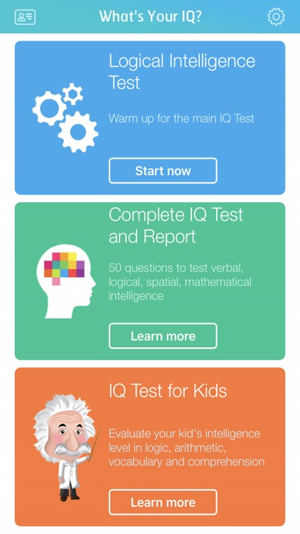 IQ Test: Calculate your IQ