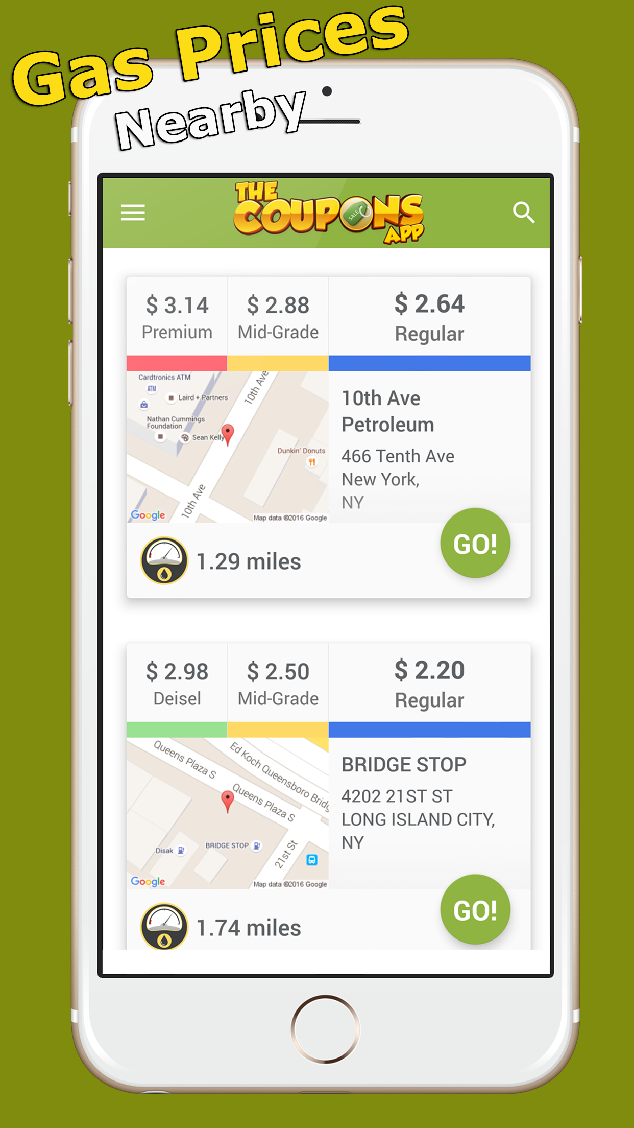 The Coupons App Screenshot