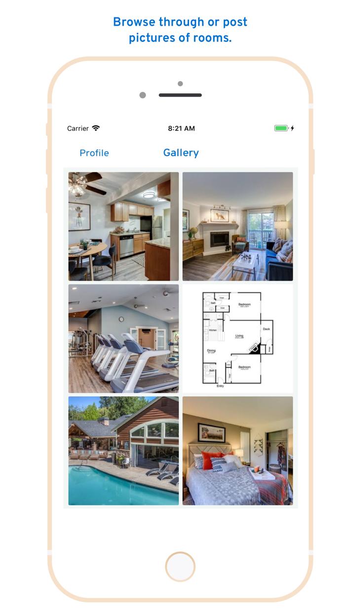 RentHoop - Roommate Finder Screenshot