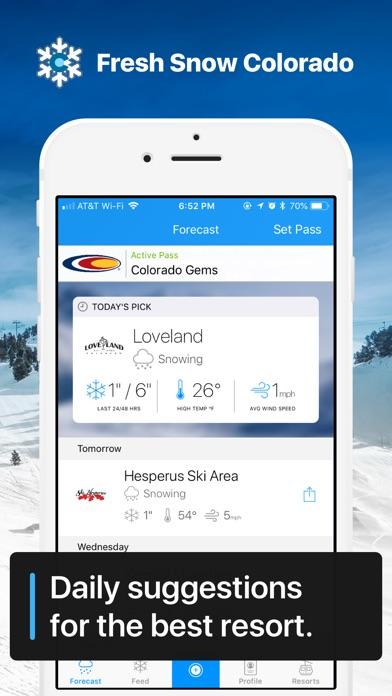 Fresh Snow Colorado Screenshot