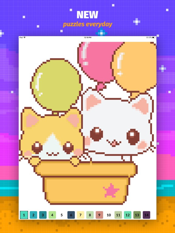 Color Book: Cute Pixel Art App | App Price Drops