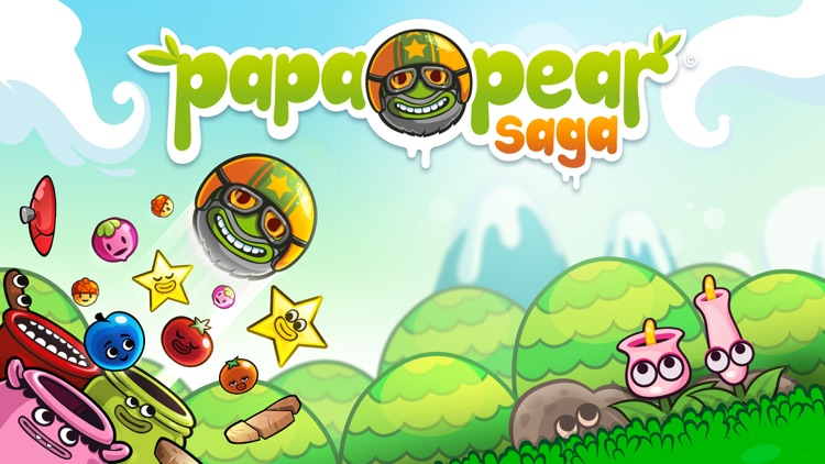 Papa Pear Saga screenshot-0