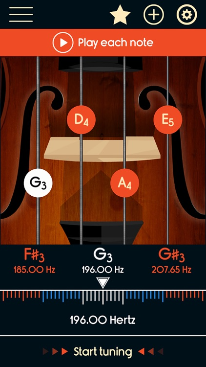 Violin Tuner Master screenshot-0