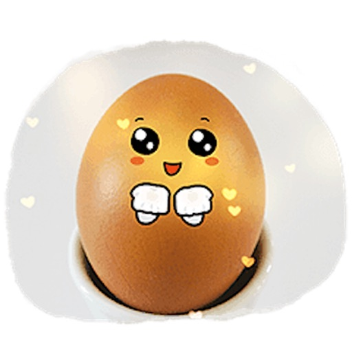Story of Cute Eggs Sticker