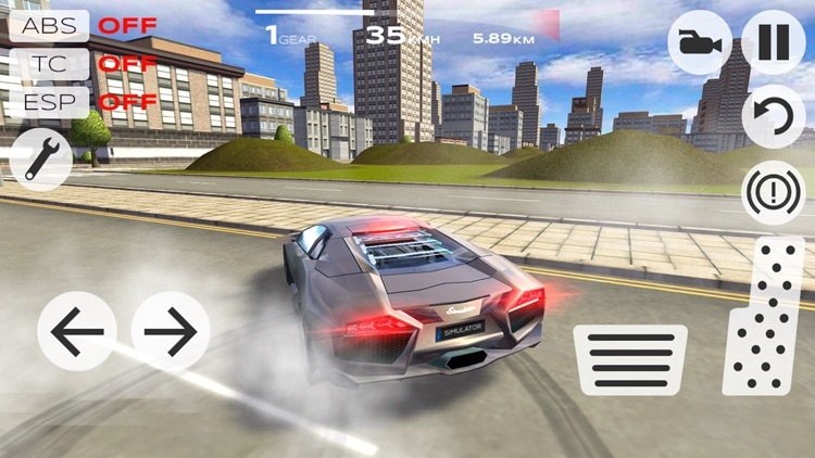 Extreme Car Driving Simulator screenshot-3