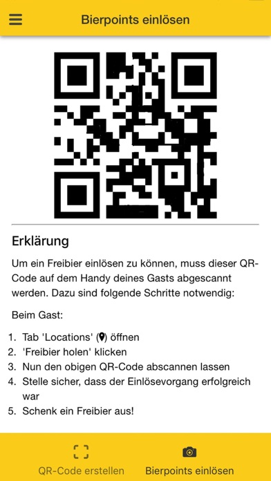 Bierpoints for BusinessScreenshot von 3