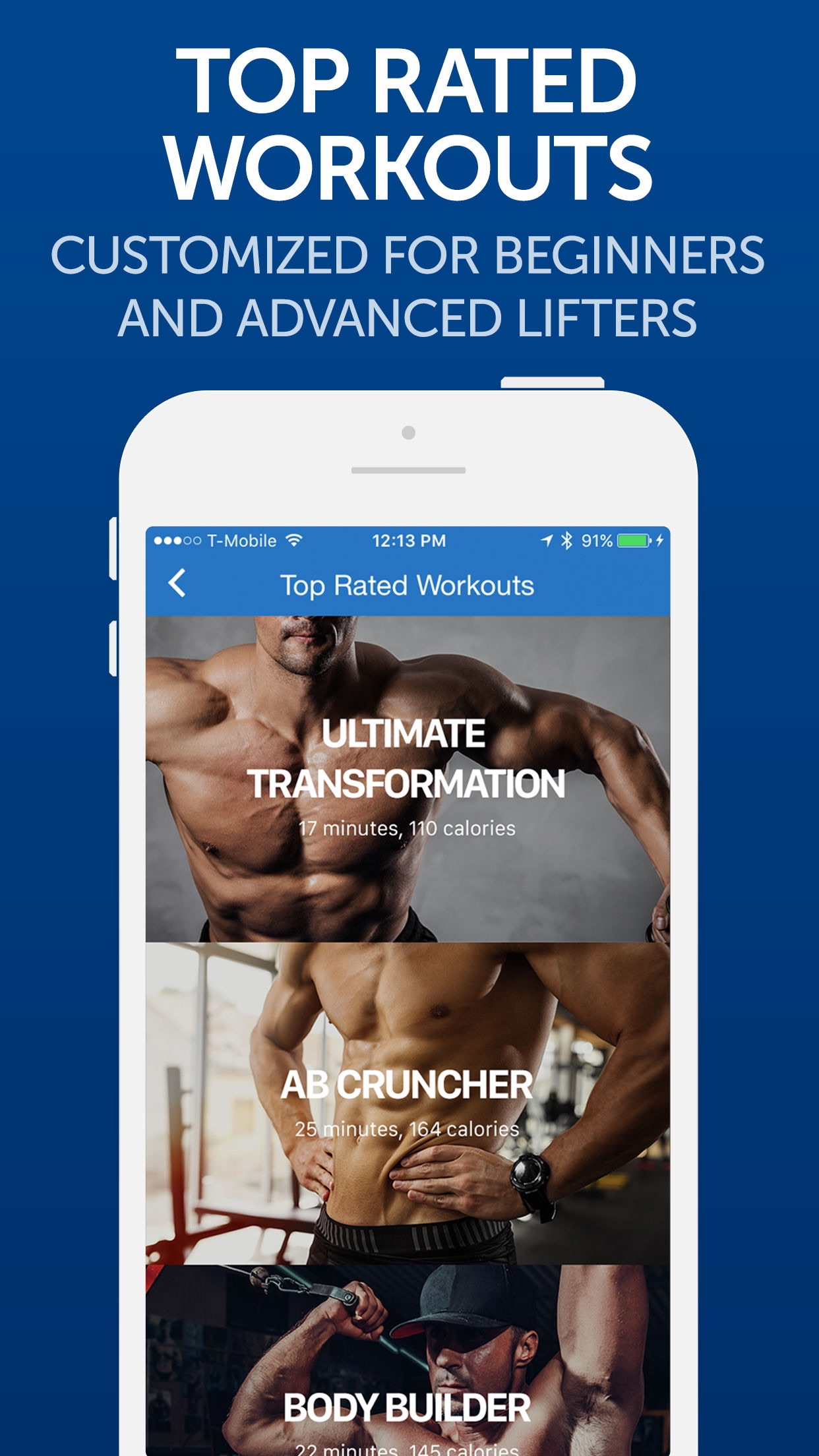 Fitness Buddy: Gym Workouts Screenshot