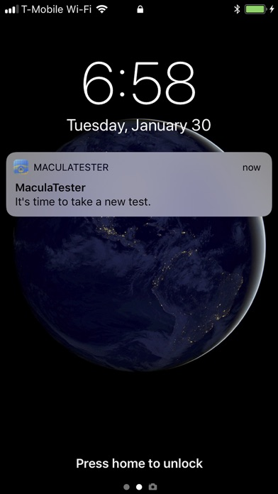 Maculatester review screenshots