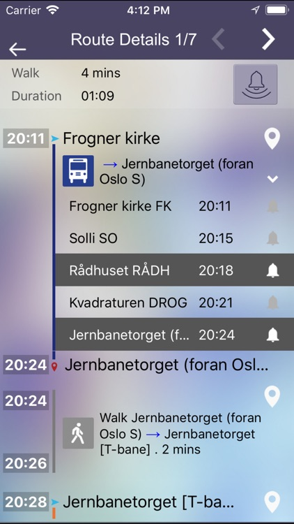 OnTimely-Oslo, RuterReise screenshot-3