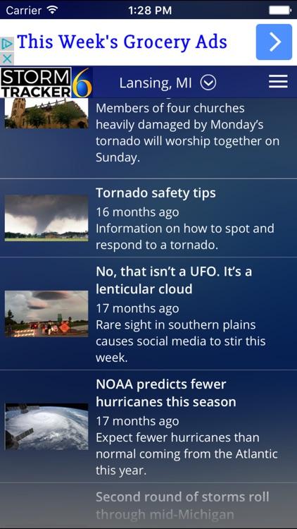 StormTracker 6 - Weather First screenshot-4