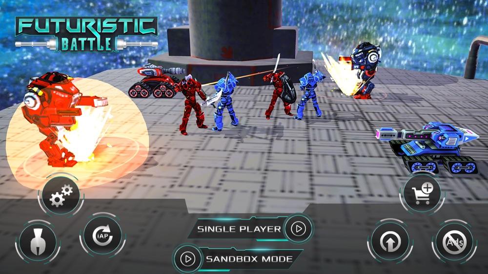 Futuristic Battle Simulator Cheat Codes
