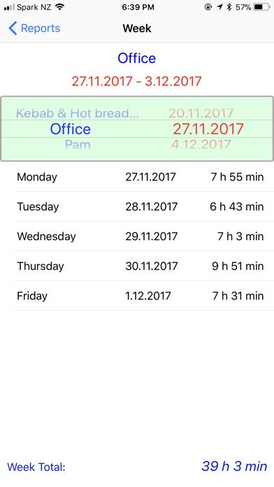 Time Tracking screenshot three