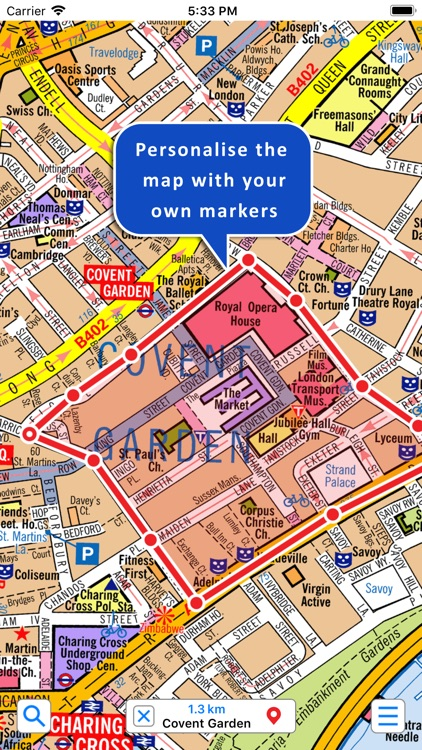 Central London A-Z Street Map screenshot-2