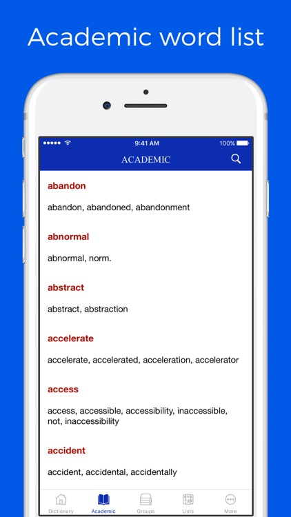 Dictionary of Word Family screenshot-3